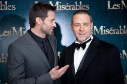photo 71/85 - Hugh Jackman, Russell Crowe-Avant-première du film Les Misérables à Londres - Les Misérables - © Universal Pictures International France