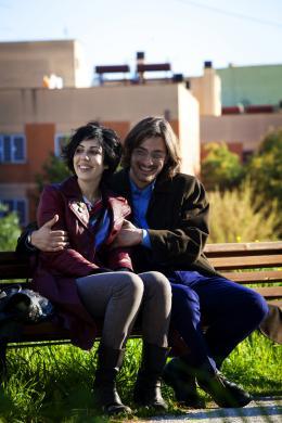 photo 6/12 - Federica Victoria Caiozzo et Luca Marinelli - Chaque jour que Dieu fait - © Bellissima Films
