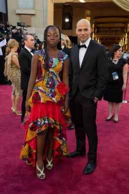 Rachel Mwanza 85�me C�r�monie des Oscars 2013 photo 1 sur 3