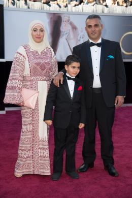 Emad Burnat 85�me C�r�monie des Oscars 2013 photo 1 sur 2