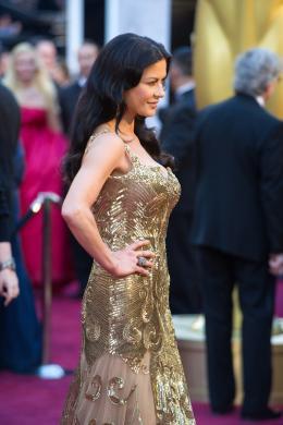 Catherine Zeta-Jones 85�me C�r�monie des Oscars 2013 photo 8 sur 58