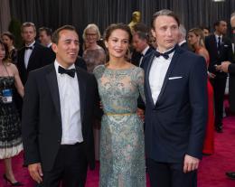 Nikolaj Arcel 85�me C�r�monie des Oscars 2013 photo 1 sur 1