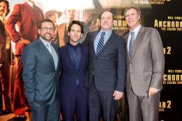 photo 11/47 - Will Ferrell, Steve Carell, David Koechner, Paul Rudd- Avant-premi�re du film L�gendes Vivantes � Sydney - L�gendes Vivantes - © Paramount