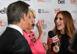 photo 28/38 - Pierce Brosnan, Emma Thompson - Présentation du film Love Punch - Toronto 2013 - Duo d'Escrocs - © Isabelle Vautier pour CommeAuCinema.com