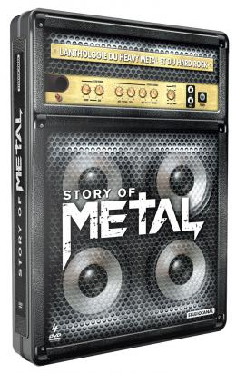 photo 1/5 - Story of Metal - L'Anthologie du Heavy Metal et du Hard Rock (Coffret 4 DVD)