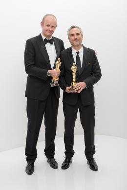 Alfonso Cuaron 86�me C�r�monie des Oscars 2014 photo 4 sur 43