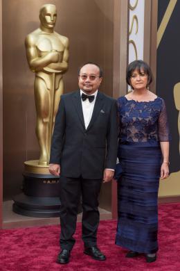 Rithy Panh 86ème Cérémonie des Oscars 2014 photo 3 sur 7