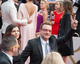 Bono 86ème Cérémonie des Oscars 2014 photo 1 sur 7