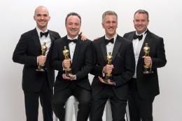 Chris Lawrence 86ème Cérémonie des Oscars 2014 photo 1 sur 2