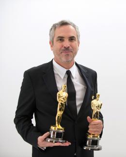 Alfonso Cuaron 86�me C�r�monie des Oscars 2014 photo 8 sur 43