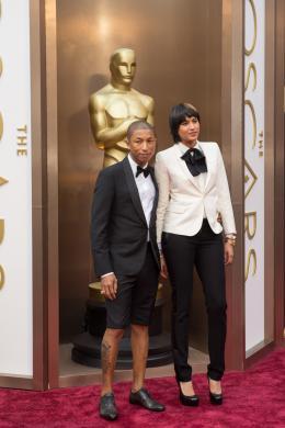 Pharrell Williams 86�me C�r�monie des Oscars 2014 photo 2 sur 2