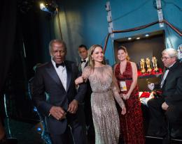 Sidney Poitier 86ème Cérémonie des Oscars 2014 photo 2 sur 10
