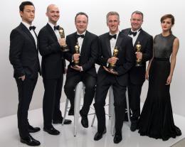 Tim Webber 86ème Cérémonie des Oscars 2014 photo 1 sur 2