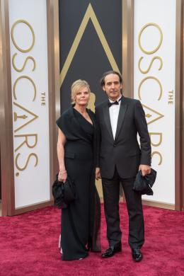 Alexandre Desplat 86ème Cérémonie des Oscars 2014 photo 1 sur 26