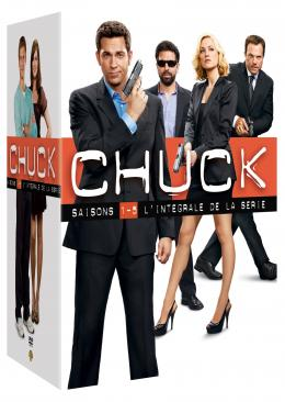 photo 1/1 - Chuck - L'Intégralité de la série (Saisons 1-5) - © Warner Home Vidéo