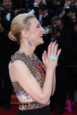 photo 36/126 - Cate Blanchett - Montée des marches du 67ème Festival International du Film de Cannes 2014 - Dragons 2 - © Isabelle Vautier pour CommeAuCinema.com