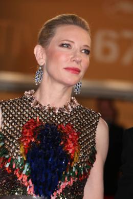 photo 31/126 - Cate Blanchett - Montée des marches du 67ème Festival International du Film de Cannes 2014 - Dragons 2 - © Isabelle Vautier pour CommeAuCinema.com