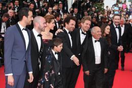 Enzo Tomasini Montée des marches du 67ème Festival International du Film de Cannes 2014 photo 1 sur 17