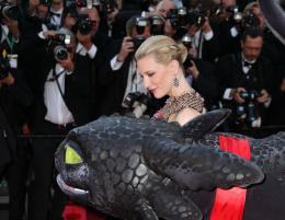 photo 39/126 - Cate Blanchett - Montée des marches du 67ème Festival International du Film de Cannes 2014 - Dragons 2 - © Isabelle Vautier pour CommeAuCinema.com