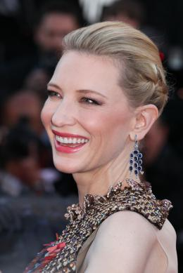 photo 51/126 - Cate Blanchett - Montée des marches du 67ème Festival International du Film de Cannes 2014 - Dragons 2 - © Isabelle Vautier pour CommeAuCinema.com