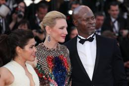 photo 50/126 - Cate Blanchett, America Ferrera,  Djimon Hounsou - Montée des marches du 67ème Festival International du Film de Cannes 2014 - Dragons 2 - © Isabelle Vautier pour CommeAuCinema.com