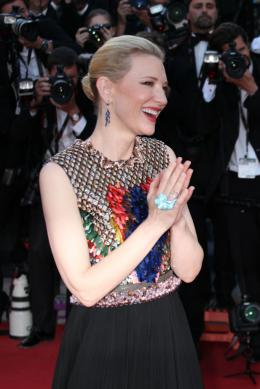photo 37/126 - Cate Blanchett - Montée des marches du 67ème Festival International du Film de Cannes 2014 - Dragons 2 - © Isabelle Vautier pour CommeAuCinema.com