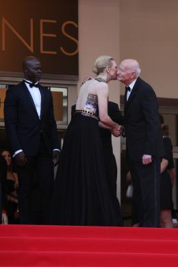 photo 34/126 - Cate Blanchett,  Djimon Hounsou - Montée des marches du 67ème Festival International du Film de Cannes 2014 - Dragons 2 - © Isabelle Vautier pour CommeAuCinema.com