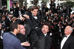 Enzo Tomasini Montée des marches du 67ème Festival International du Film de Cannes 2014 photo 3 sur 17