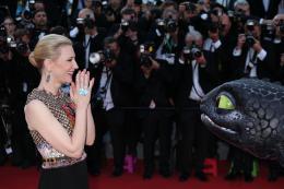 photo 41/126 - Cate Blanchett - Montée des marches du 67ème Festival International du Film de Cannes 2014 - Dragons 2 - © Isabelle Vautier pour CommeAuCinema.com