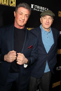 photo 44/61 - Sylvester Stallone, Robert De Niro - Match Retour - © Warner Bros