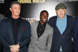 photo 46/61 - Sylvester Stallone, Kevin Hart, Robert De Niro - Match Retour - © Warner Bros
