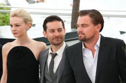 photo 100/145 - Carey Mulligan, Tobey Maguire et Leonardo DiCaprio - Conférence de presse Gatsby le Magnifique - Cannes 2013 - Gatsby Le Magnifique - © Isabelle Vautier pour CommeAuCinema.com