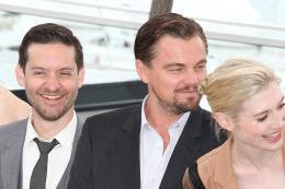 photo 101/145 - Tobey Maguire, Leonardo DiCaprio et Adelaide Clemens - Conférence de presse Gatsby le Magnifique - Cannes 2013 - Gatsby Le Magnifique - © Isabelle Vautier pour CommeAuCinema.com