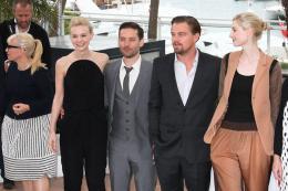 Catherine Martin (l) Conférence de presse Gatsby le Magnifique - Cannes 2013 photo 1 sur 3