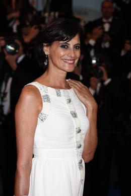 Ines de la Fressange Montée des marches Gatsby le Magnifique - Cannes 2013 photo 3 sur 3