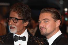 photo 139/145 - Amitabh Bachchan et Leonardo DiCaprio - Montée des marches Gatsby le Magnifique - Cannes 2013 - Gatsby Le Magnifique - © Isabelle Vautier pour CommeAuCinema.com