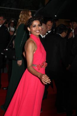 Freida Pinto Montée des marches Gatsby le Magnifique - Cannes 2013 photo 8 sur 44