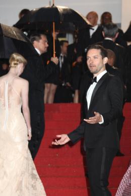 photo 138/145 - Tobey Maguire - Montée des marches Gatsby le Magnifique - Cannes 2013 - Gatsby Le Magnifique - © Isabelle Vautier pour CommeAuCinema.com