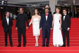 Fantin Ravat Montée des marches Jeune et Jolie - Cannes 2013 photo 4 sur 7