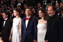 Fantin Ravat Montée des marches Jeune et Jolie - Cannes 2013 photo 6 sur 7