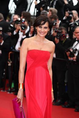 Ines de la Fressange Montée des marches Jeune et Jolie - Cannes 2013 photo 2 sur 3