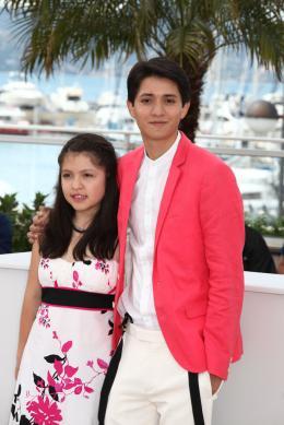 photo 10/15 - Andrea Vergara et Armando Espitia - photocall du film Heli - Cannes 2013 - Heli - © Isabelle Vautier pour CommeAuCinema.com