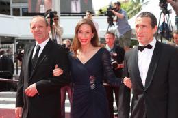 photo 15/17 - Christian Gregori, Jessica Erickson, Richard Chevallier - Cannes 2014 - Adieu au Langage - © Isabelle Vautier pour CommeAuCinema.com