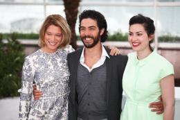 photo 9/25 - Léa Saydoux, Tahar Rahim et Rebecca Zlotowski - Photocall de Grand Central - Cannes 2013 - Grand Central - © Isabelle Vautier pour CommeAuCinema.com