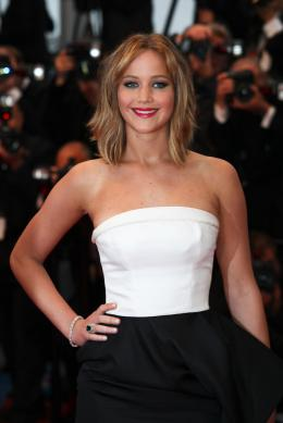 photo 72/120 - Jennifer Lawrence - Présentation du film Jimmy P. - Cannes 2013 - Hunger Games - L'Embrasement - © Isabelle Vautier pour CommeAuCinema.com