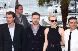 Inside Llewyn Davis Garrett Hedlund, Justin Timberlake, Carey Mulligan et Oscar Isaac - Photocall de Inside Llewyn Davis - Cannes 2013 photo 10 sur 40