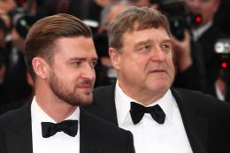 photo 25/40 - Justin Timberlake et John Goodman - Présentation de Inside Llewyn Davis - Cannes 2013 - Inside Llewyn Davis - © Isabelle Vautier pour CommeAuCinema.com