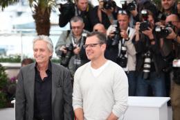 photo 17/43 - Michael Douglas et Matt Damon - Photocall du film Ma Vie avec Liberace - Cannes 2013 - Ma vie avec Liberace - © Isabelle Vautier pour CommeAuCinema.com