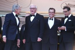 Jerry Weintraub Pr�sentation du film Ma Vie avec Liberace - Cannes 2013 photo 3 sur 8