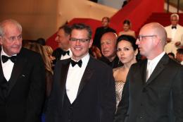 photo 40/43 - Jerry Weintraub, Matt Damon et Steven Soderbergh - Présentation du film Ma Vie avec Liberace - Cannes 2013 - Ma vie avec Liberace - © Isabelle Vautier pour CommeAuCinema.com